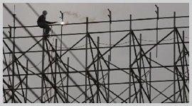 costruzione ponteggi