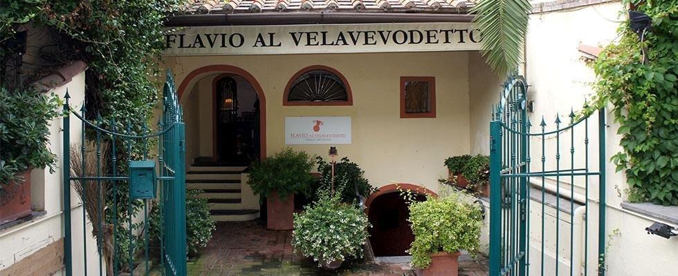 Flavio Al Velavevodetto ristorante cucina romana