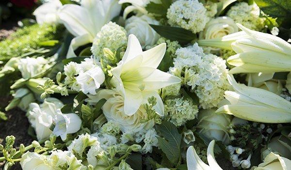 fiori commemorativi