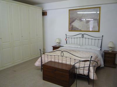 Camera da letto in ferro battuto