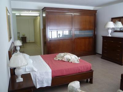 Camera da letto in legno