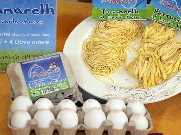 Uova e pasta fresca