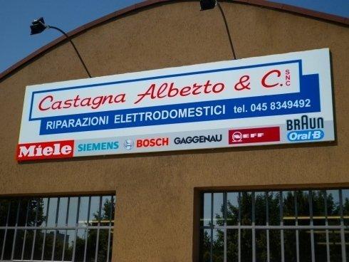 Facciata Castagna Alberto