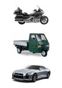 Tipologia di veicoli