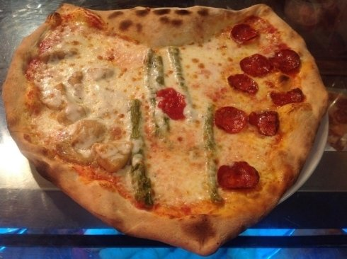 Pizze  con condimento
