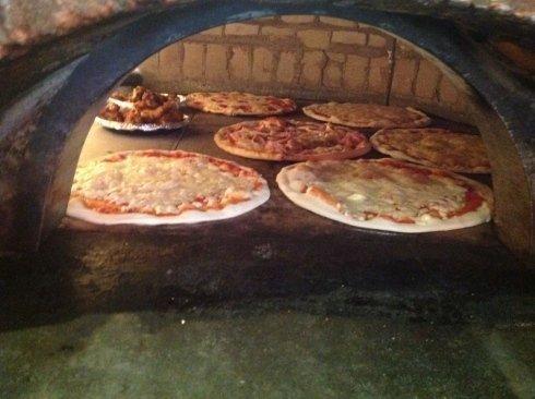 Pizze in cottura