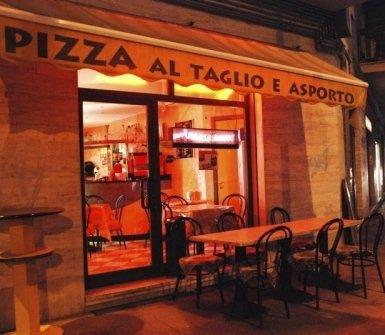 pizza al taglio, pizza d'asporto, vendita pizza