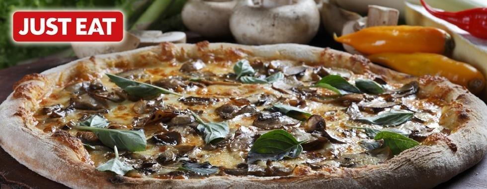 pizza funghi Pizzeria Al Vulcano Pria Genova Quarto just eat