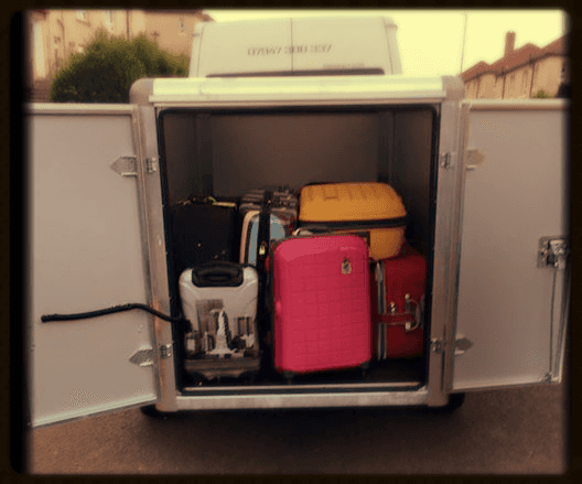 parked minibus