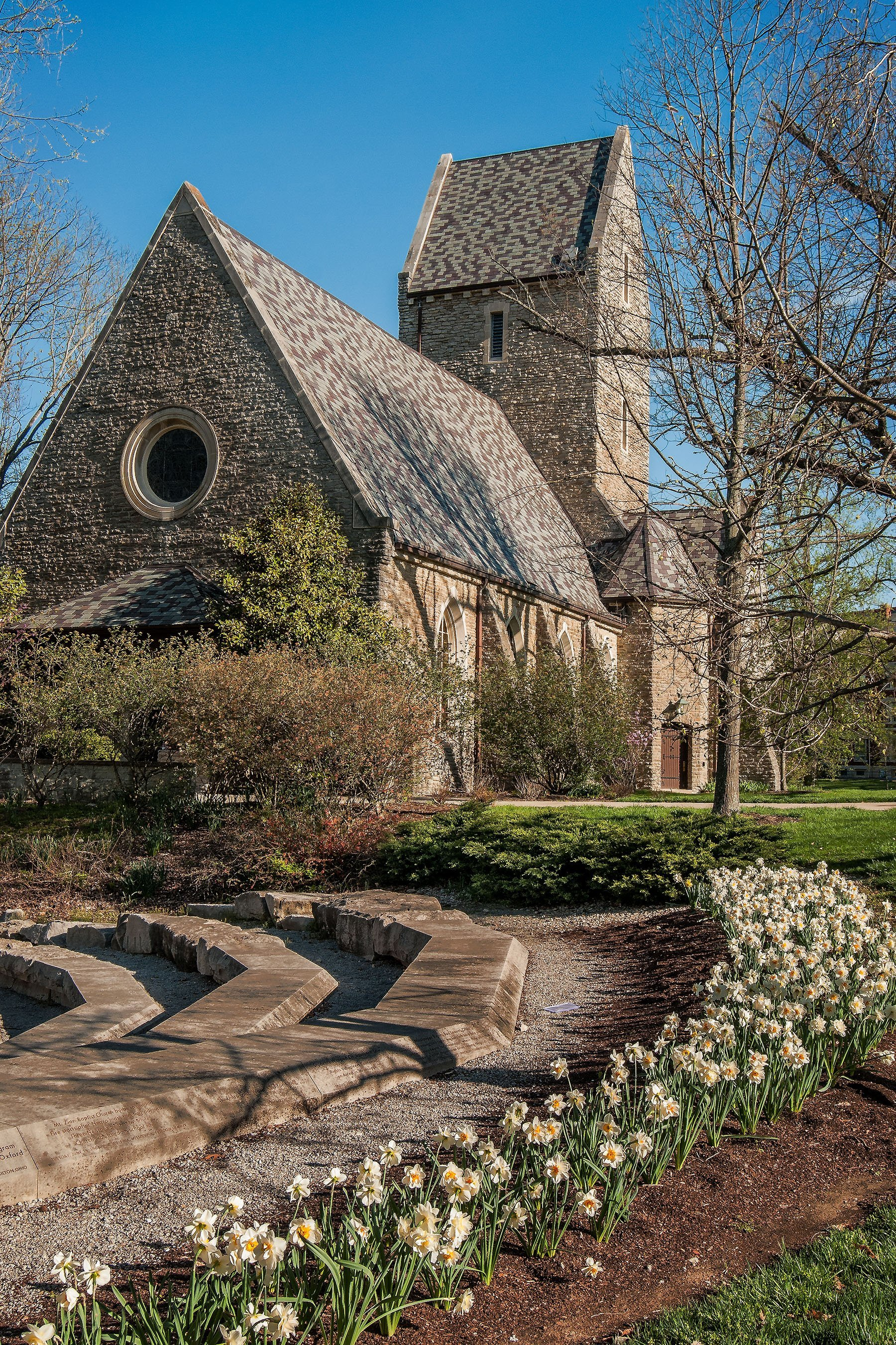 Kumler Chapel in Spring Oxford Ohio