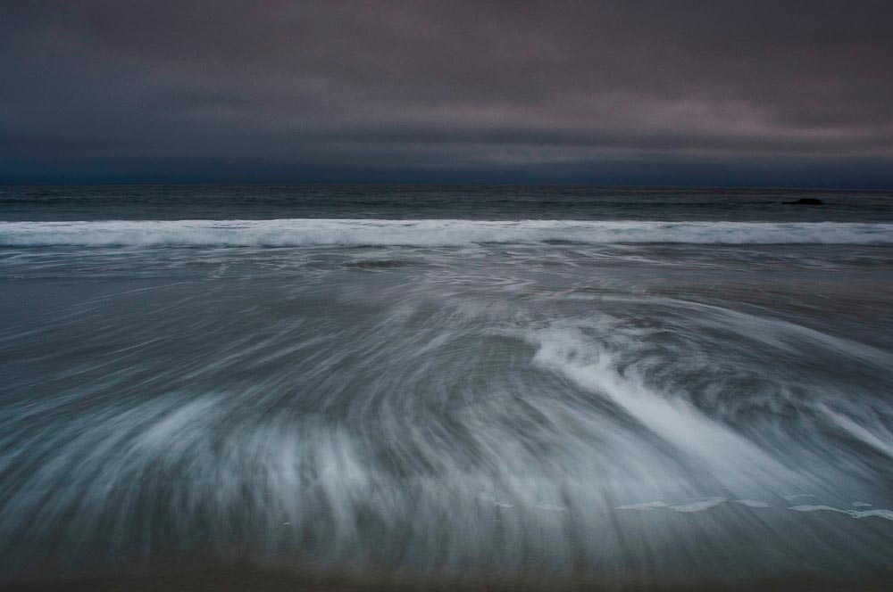 Gualala Beach, dusk