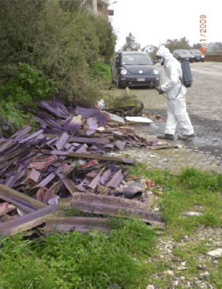 cement disposal