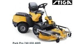 Trattorino STIGA PARK PRO 740 IOX, prodotti per il giardinaggio, tagliaerba