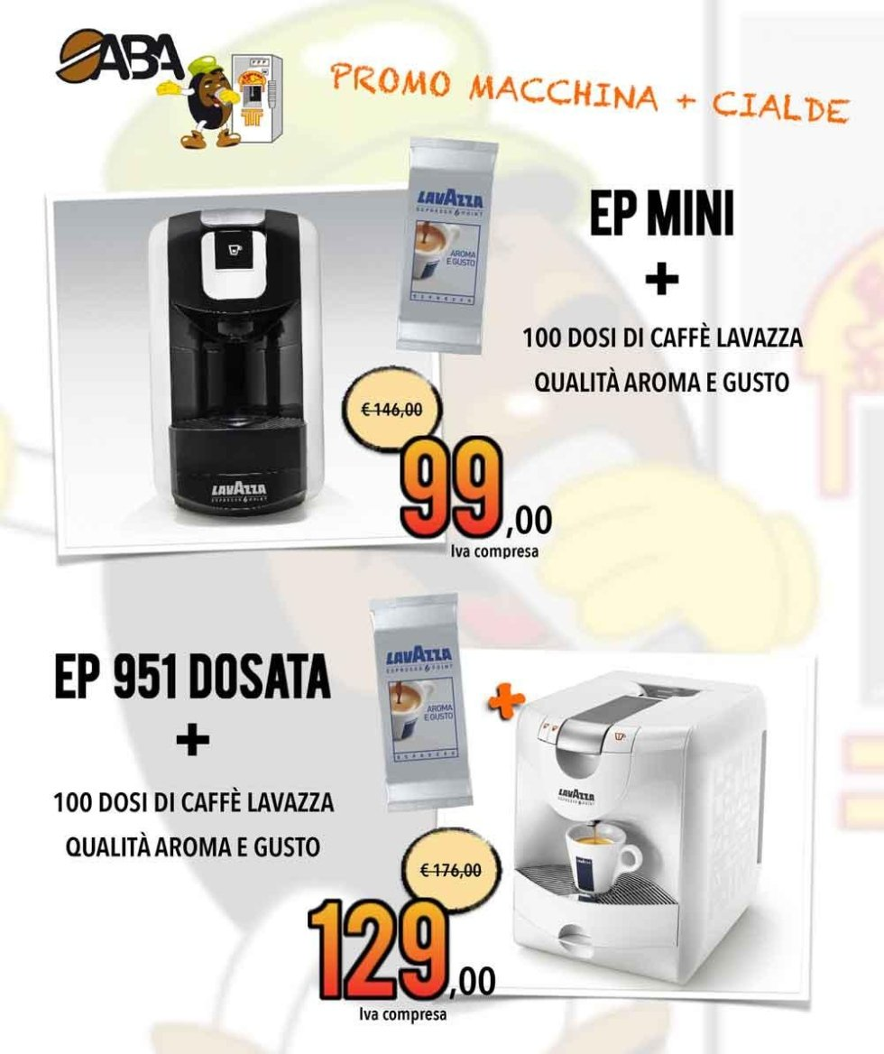 Promo Macchina + Cialde