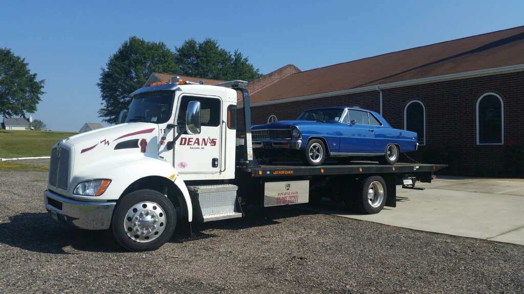 auto towing raleigh
