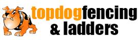 topdog fencing topdog ladders logo