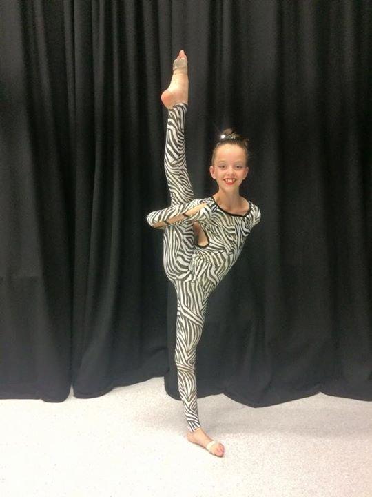 gymnastic dance