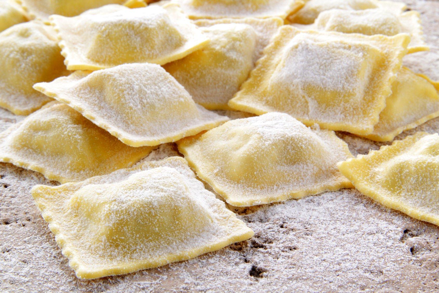 Ravioli Provola e Salsiccia