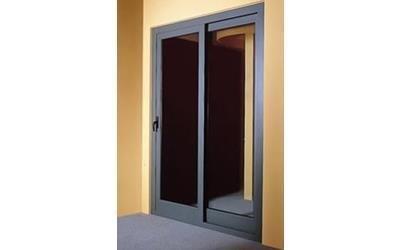 Porta a vetri esterna Metalinfissi