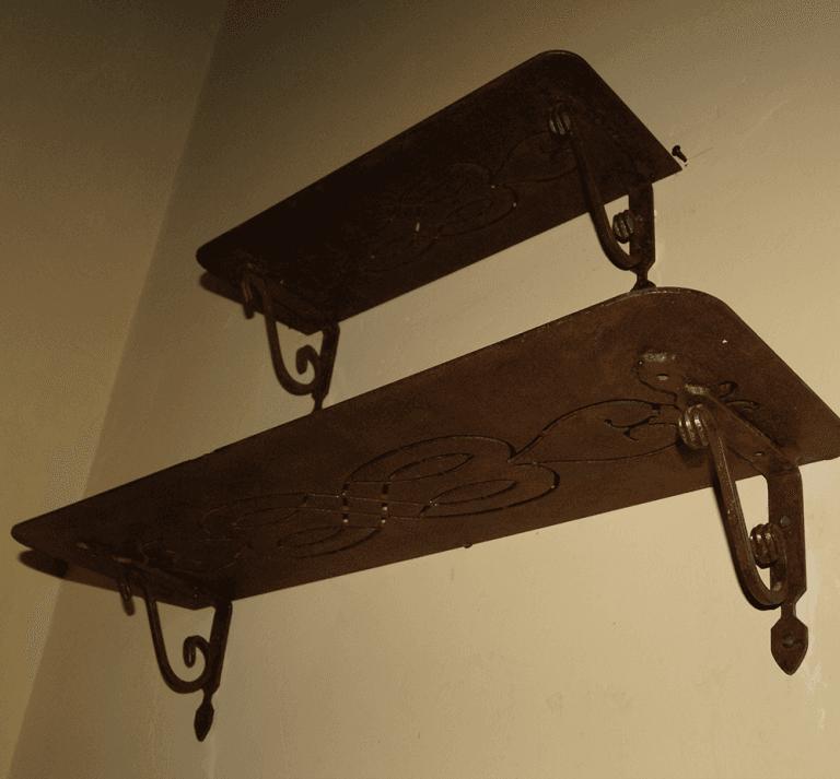 pensiline in ferro battuto