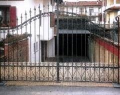 Cancello in ferro Metalinfissi srl
