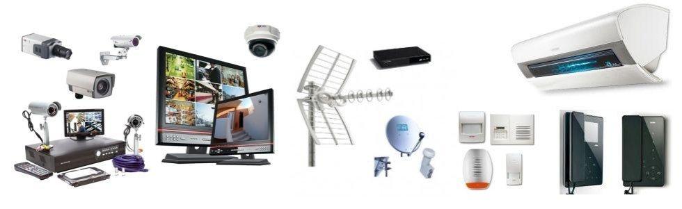 climatizzazione, citofonia, antifurto, antennistica
