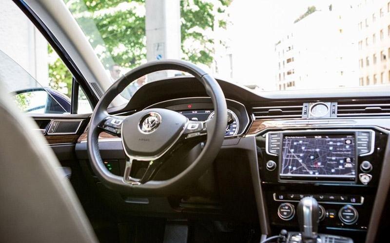Volkswagen con autista