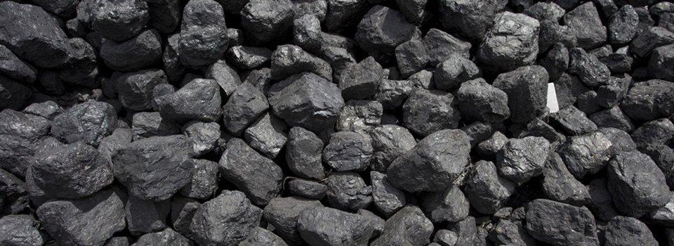 stacks of coal