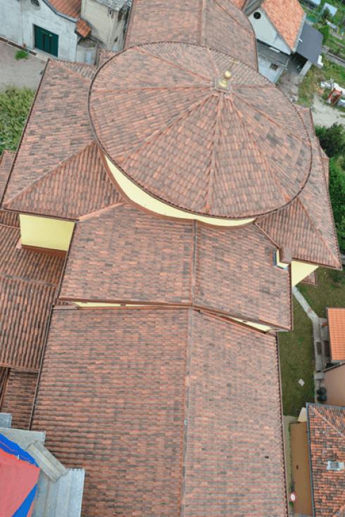 Ristrutturazione tetto Chiesa di Bregnano (CO)