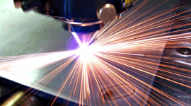Taglio laser del metallo