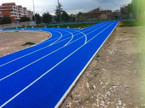 pista per atletica