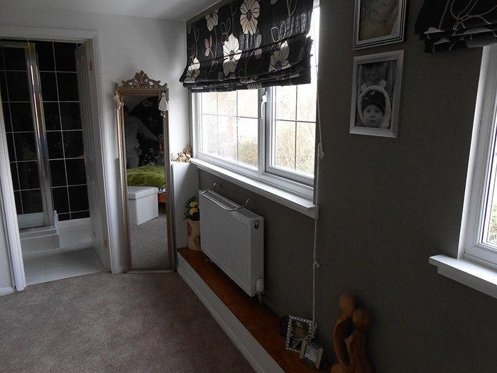 Large window in loft conversion
