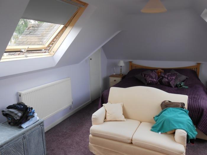 Large rooflight in loft conversion