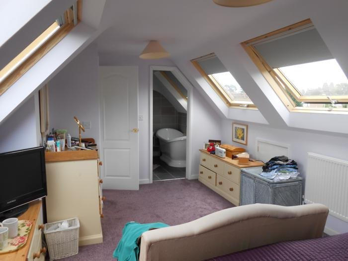 Multiple rooflights in conversion