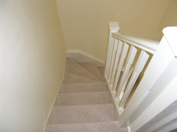 Stairs from loft