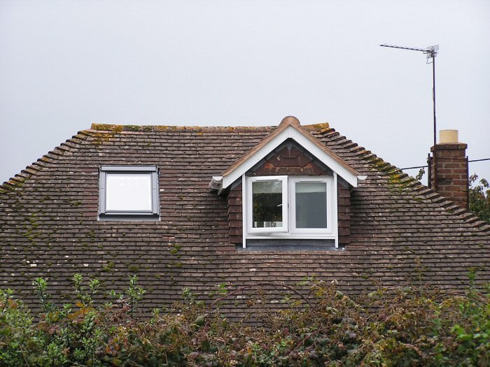 Roof with window