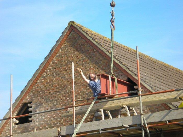 Loft conversion construction