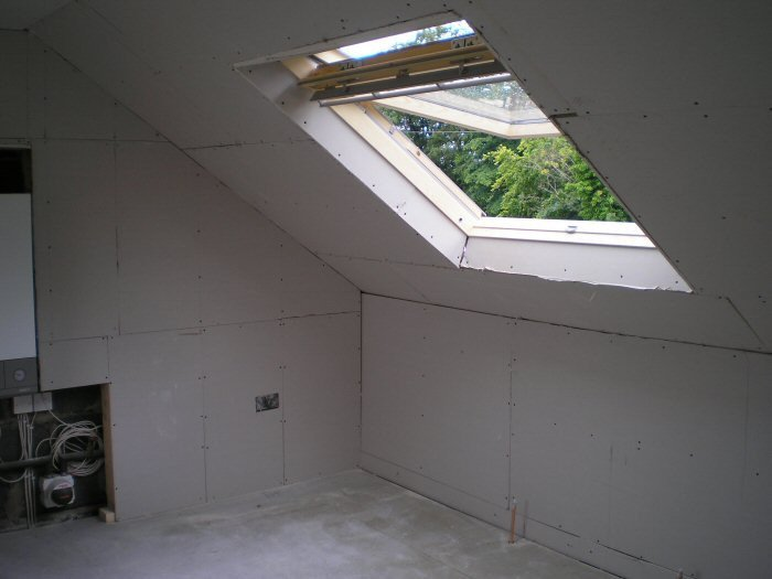 Rooflight in conversion