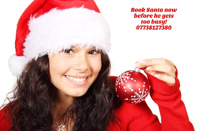 Book Santa for your Christmas event