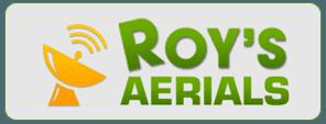 Roy's Aerials Logo