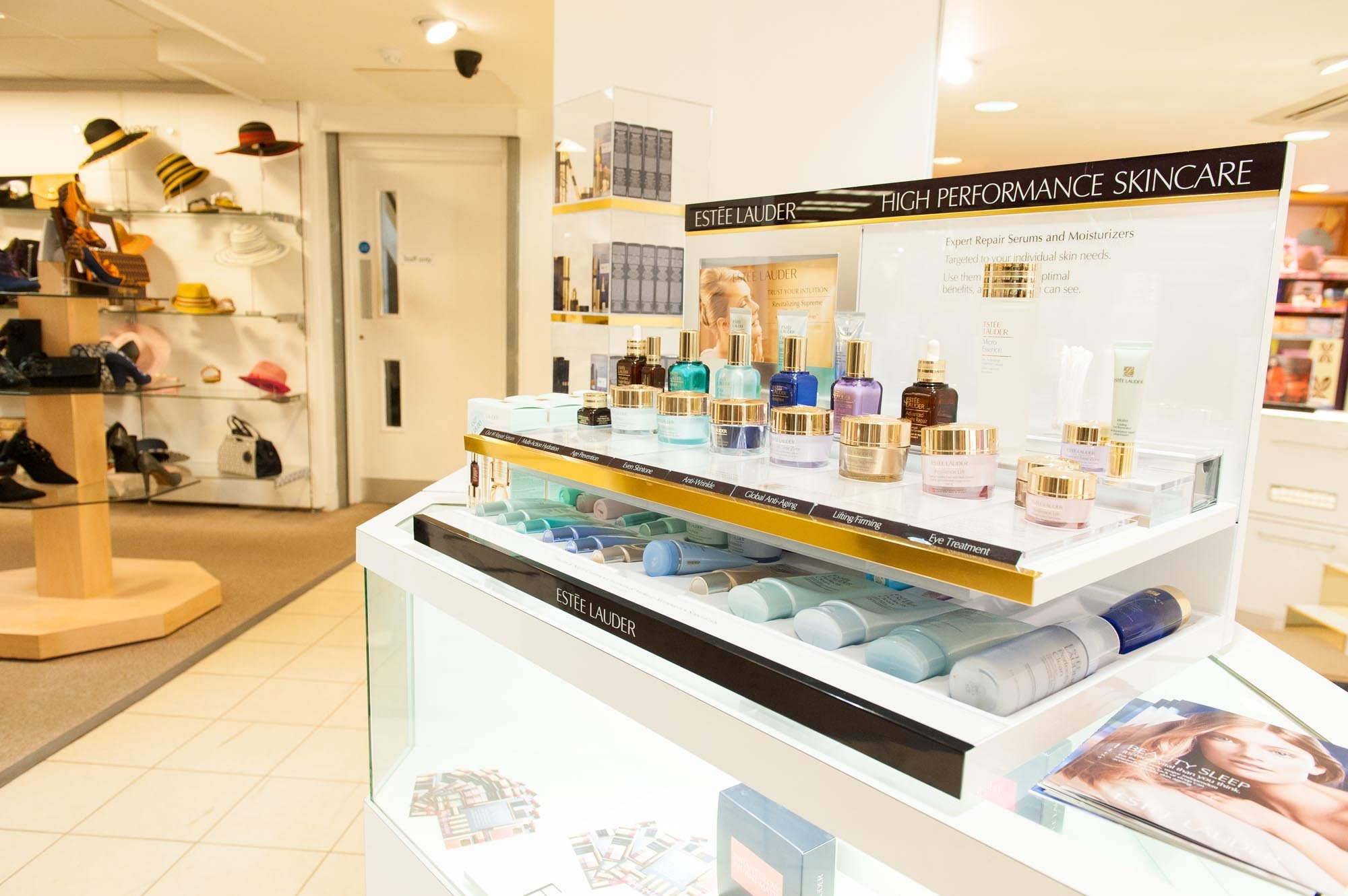 Premium skincare brands at our Department Store In Spalding