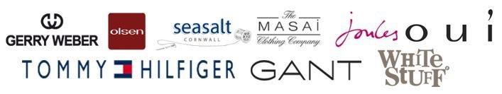 Fashion brands we supply