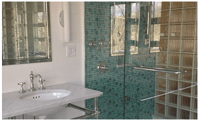 showerscreens by the Amalgamated Glass