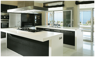 beautiful splashbacks made by Amalgamated Glass