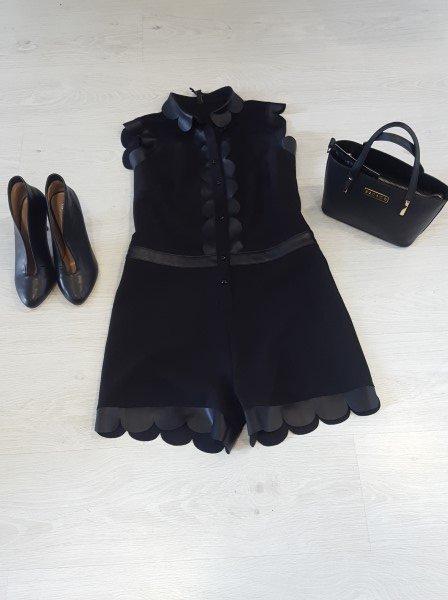 proposta abbinamento vestito borsa e scarpe