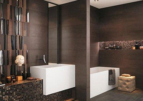 Rivestimento moderno per bagno