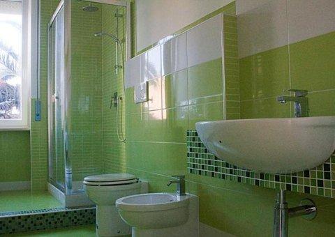 Rivestimento colorato verde