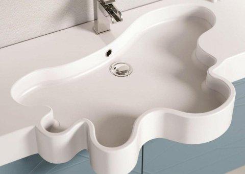 lavandino bagno forma irregolare