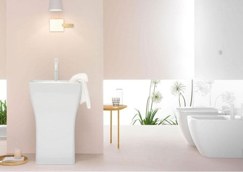 bagno sfumature rosa