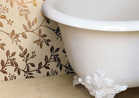 Pavimenti in ceramica effetto marmo marfil lucidato